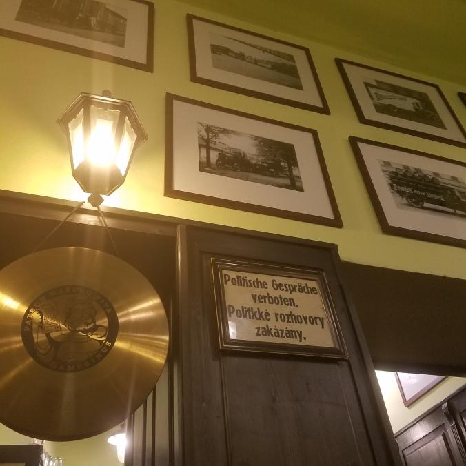 Prague verboten