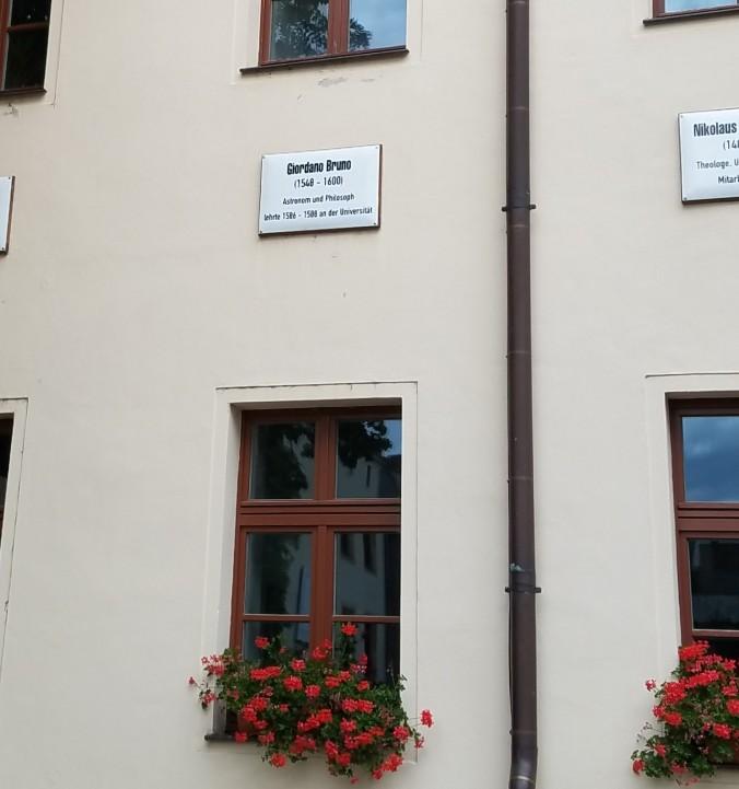 Wittenberg giordano bruno