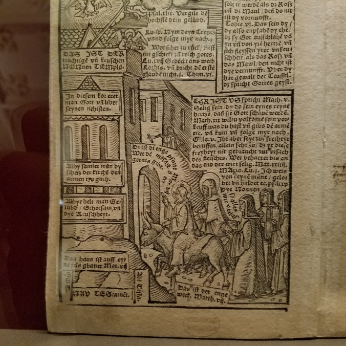 Wittenberg graphic novel 1540s